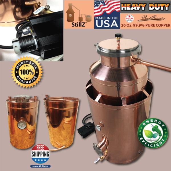 ... Traditional Copper – Moonshine Still – Grappa Complete Still Kit