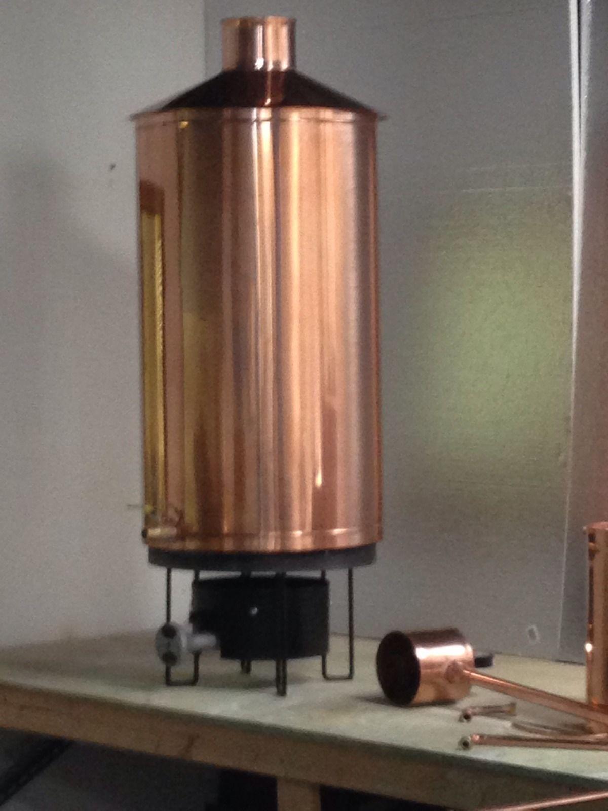 Discount Stillz 50 Gallon Traditional Copper Moonshine Still