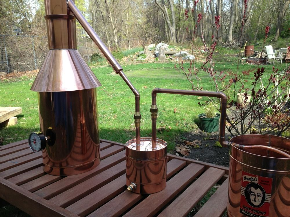 Discount Stillz 6 Gallon Traditional Copper - Moonshine Still