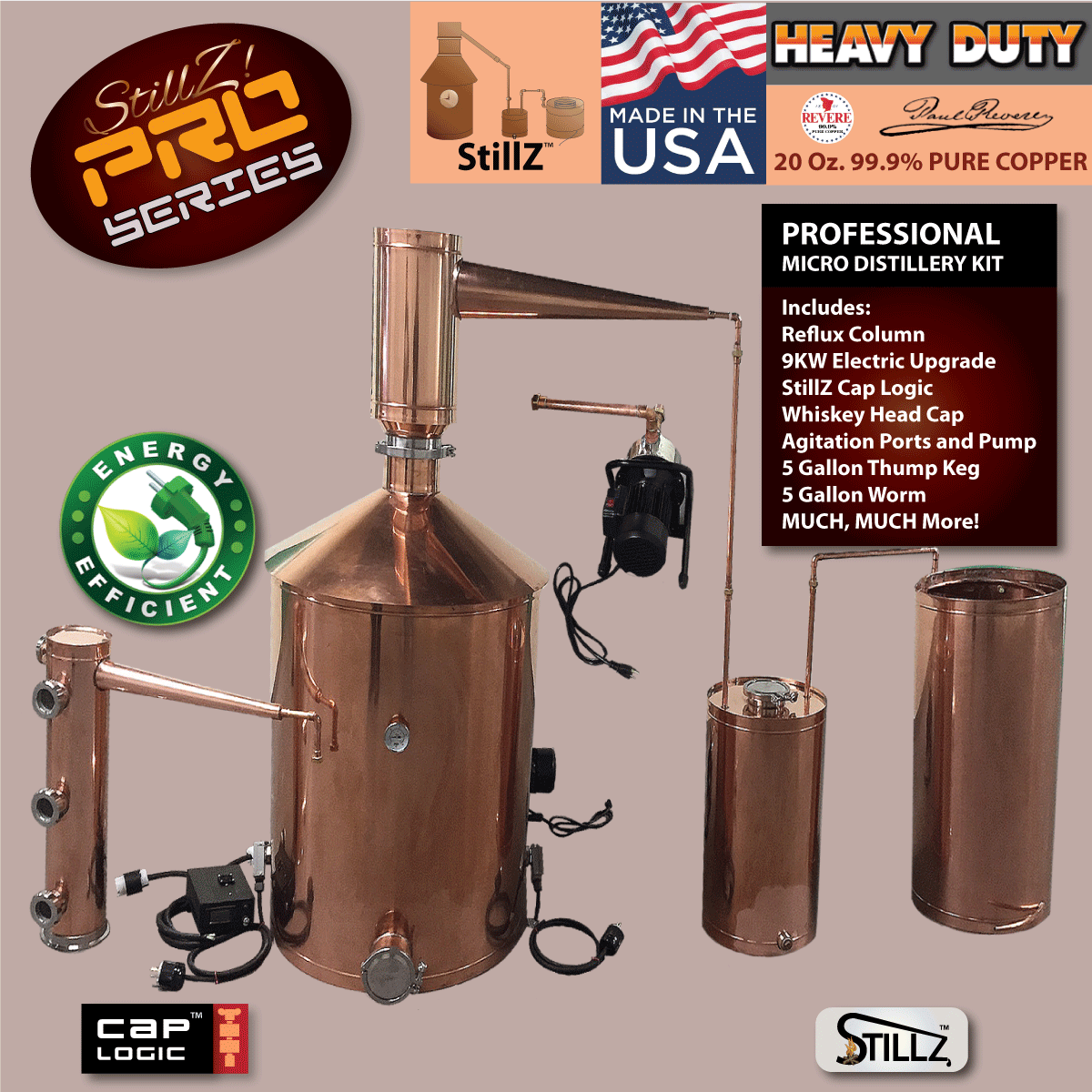 Discount Stillz 100 Gallon Copper Moonshine Still Home ...