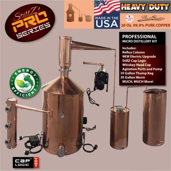 100 Gallon Traditional - Copper Moonshine Still - Complete Home Distillery  Kit