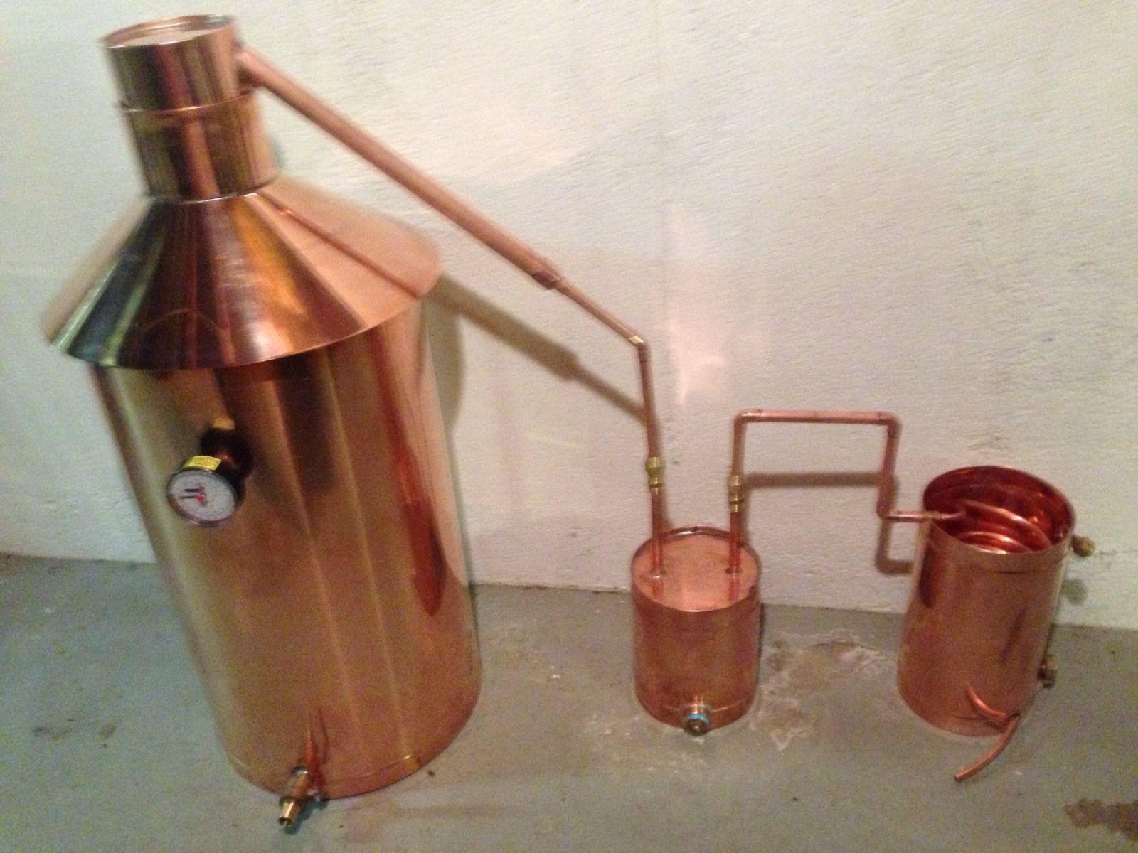 Discount Stillz 20 Gallon - Heavy Copper Moonshine Still