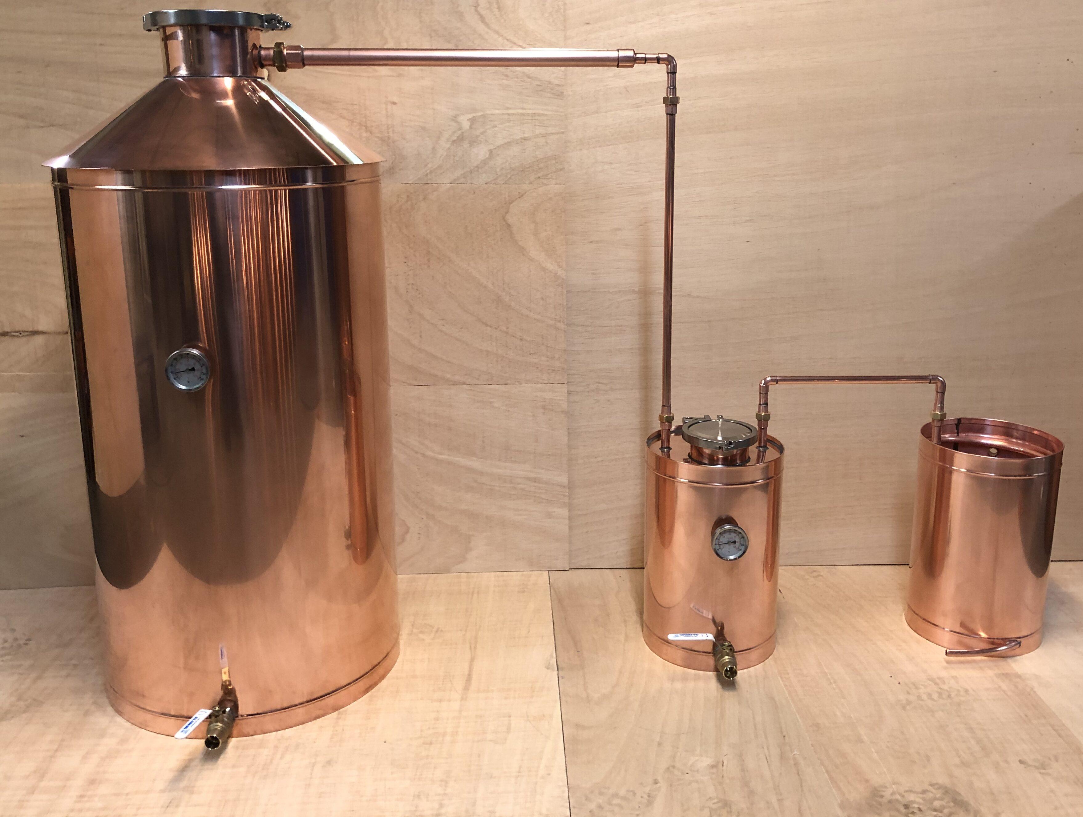 Copper Moonshine Still
