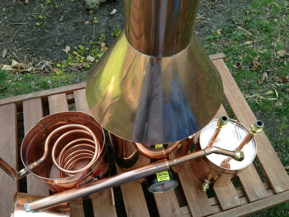 What Is The Cheapest >> Discount Stillz 6 Gallon Traditional Copper - Moonshine Still